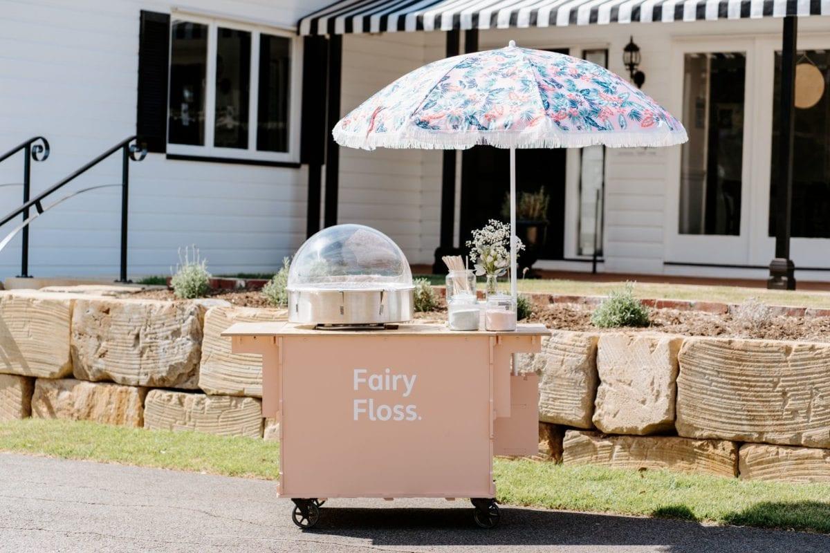 Pink Fairy Floss Cart