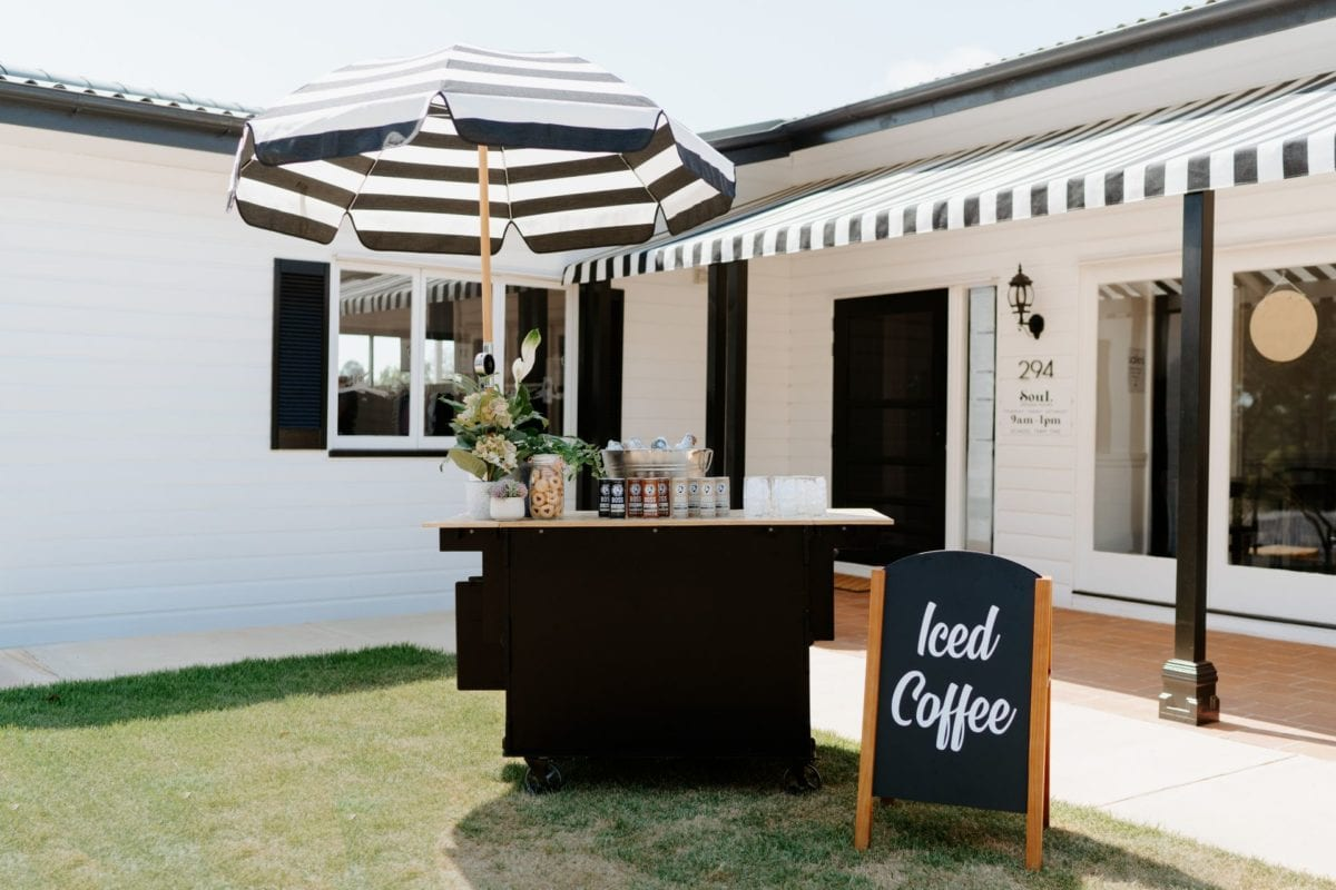 Iced Coffee Carts Brisbane