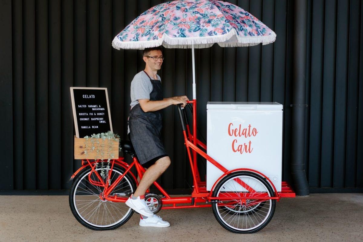 Red Gelato Bike Brisbane