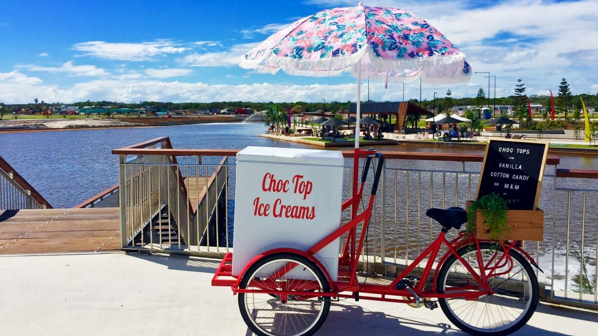 Choc Top Ice Cream Cart